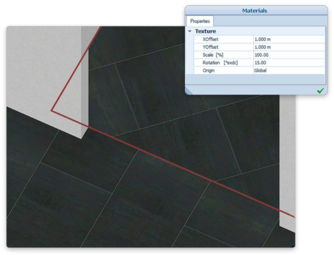 Texturas de materiales: nueva gestión en 3D y en Tiempo Real.