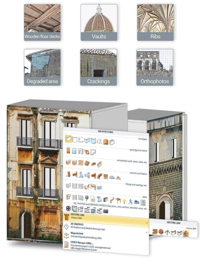 digitalización del patrimonio existente e histórico